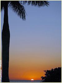 Sunset at Ponce de Leon Park, Punta Gorda, FL