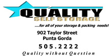 Quality Self Storage, Punta Gorda