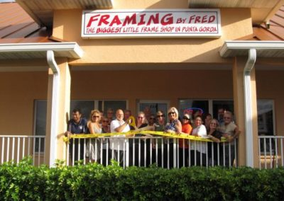 Framing by Fred