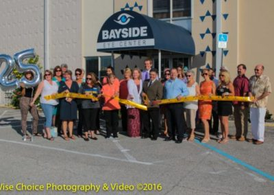 25th anniversary for Bayside Eye Center