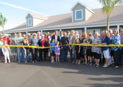 Creekside RV Resort Ribbon Cutting 001