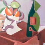 11-15-17 at the Visual Arts Center - Sip & Paint like Picasso with Marki Raposa. Part of the 2017 Fine Arts Festival.