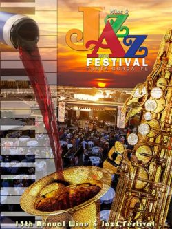 13th Annual Jazz Festival Poster