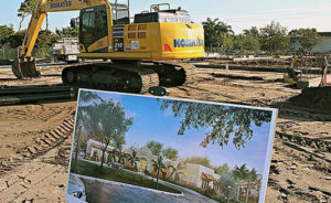 Punta Gorda Library ground-breaking